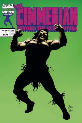 The Cimmerian: Beyond the Black River #1 (Casas Cover)