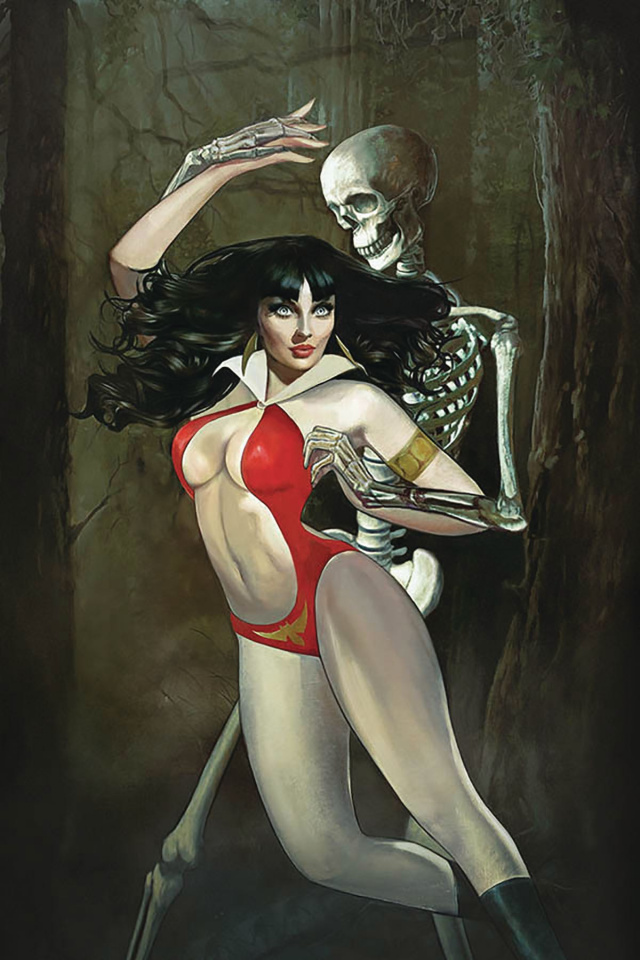 Vampirella #8 (Dalton Virgin Cover)