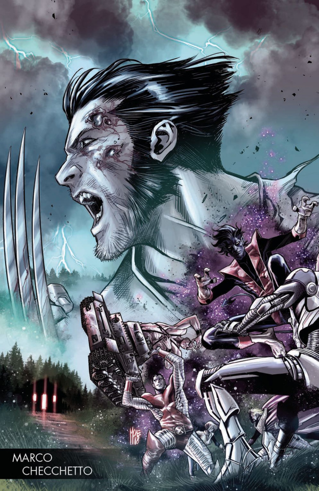 Hunt for Wolverine #1 (Checchetto Young Guns Cover)