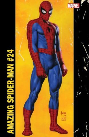The Amazing Spider-Man #24 (Jusko Corner Box Cover)