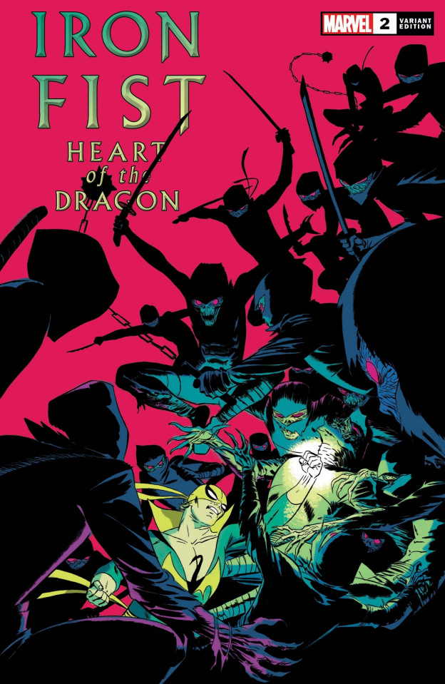 Iron Fist: Heart of the Dragon #2 (Martin Cover)