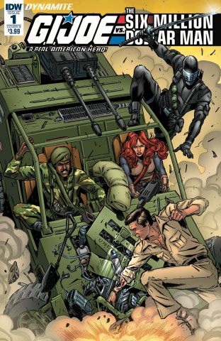 G.I. Joe vs. The Six Million Dollar Man #1 (Gallant Cover)