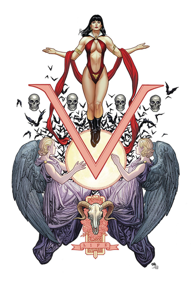 Vengeance of Vampirella #1 (Cho Virgin Cover)