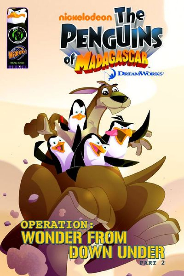 The Penguins of Madagascar Vol. 2: Wonder From Down Under