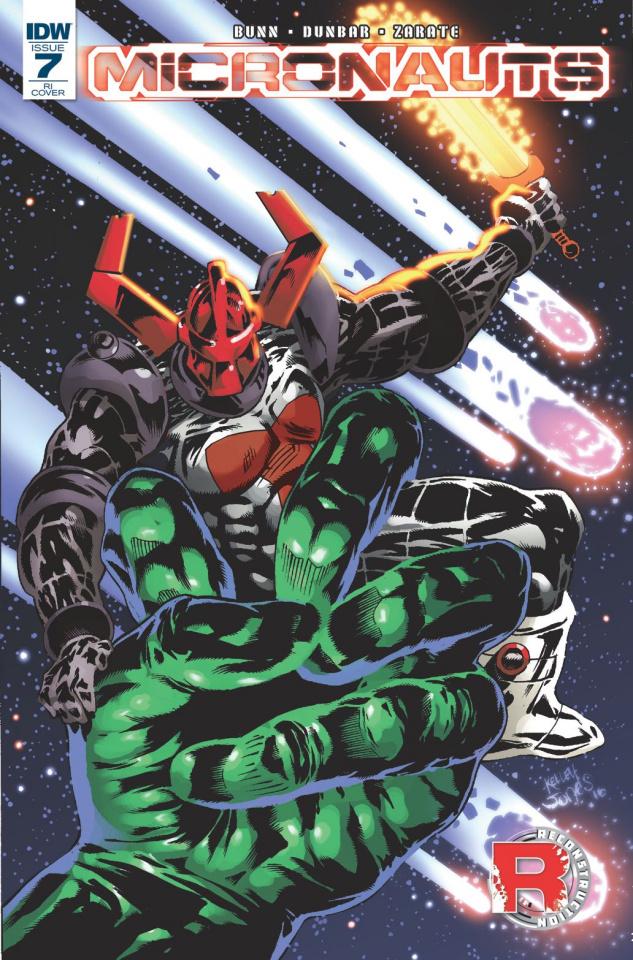 Micronauts #7 (10 Copy Cover)