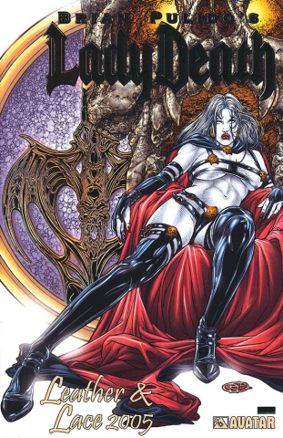 Lady Death: Leather & Lace 2005 (Platinum Foil Cover)