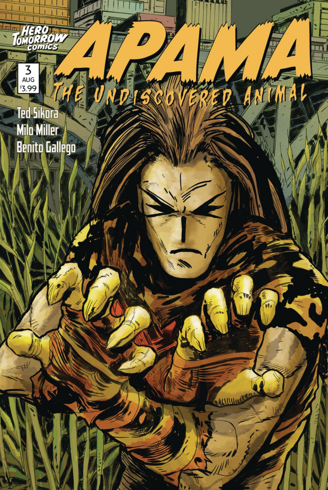 Apama: The Undiscovered Animal #3 (Harrison Cover)