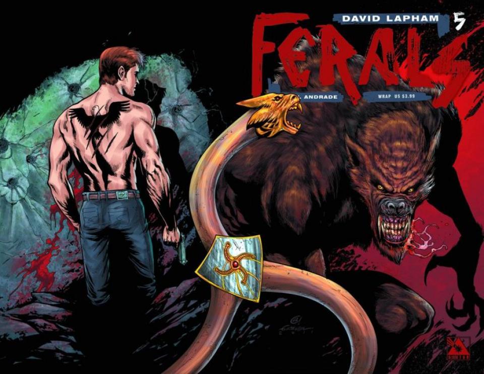 Ferals #5 (Wrap Cover)