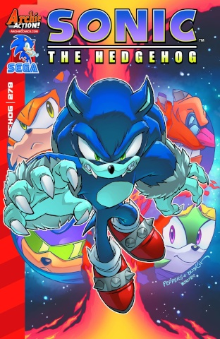Sonic the Hedgehog #279 (Peppers Cover)