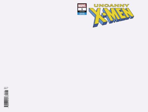 Uncanny X-Men #1 (Blank Cover)