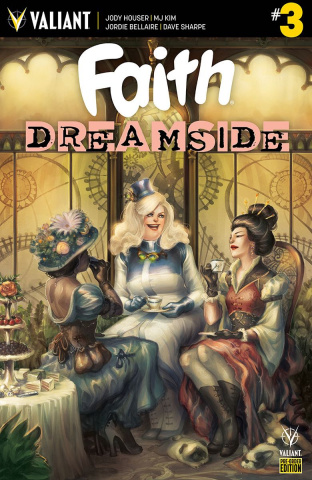 Faith: Dreamside #3 (Pre-Order Bundle Cover)
