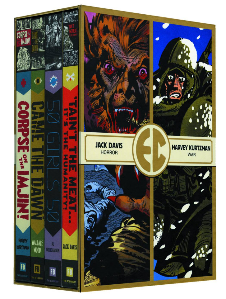 EC Comics: Four Slipcase Vol. 1