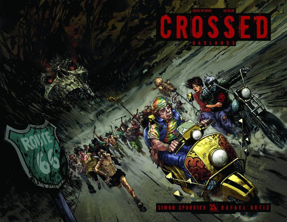 Crossed: Badlands #39 (Wrap Cover)