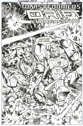 The Transformers: Drift - Empire of Stone #1 (10 Copy Cover)