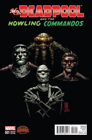 Mrs. Deadpool and the Howling Commandos #1 (Howling Cover)