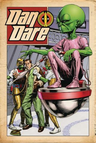 Dan Dare #3 (Weston Cover)