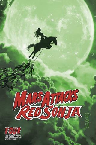 Mars Attacks / Red Sonja #4 (21 Copy Suydam Tint Cover)