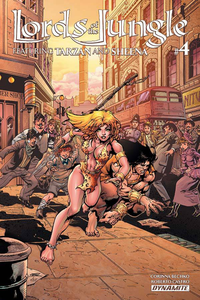 Lords of the Jungle #4 (Castro Cover)