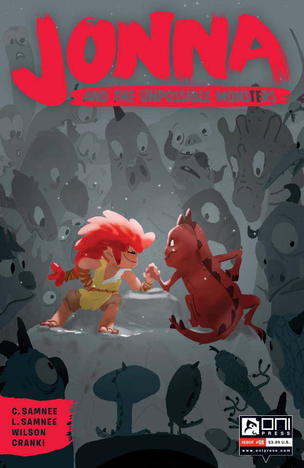 Jonna and the Unpossible Monsters #8 (Campion Cover)