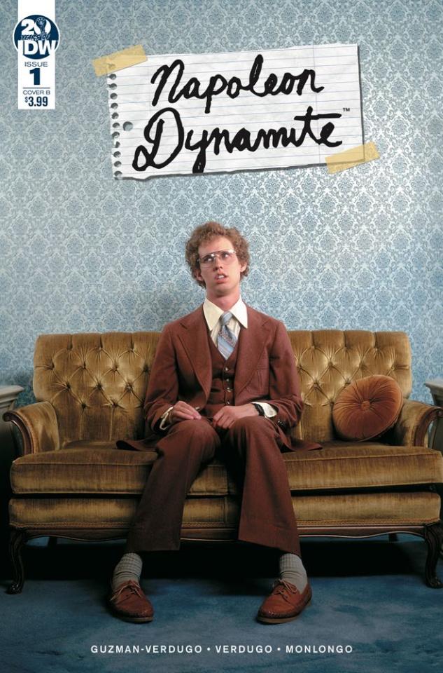 Napoleon Dynamite #1 (Photo Cover)