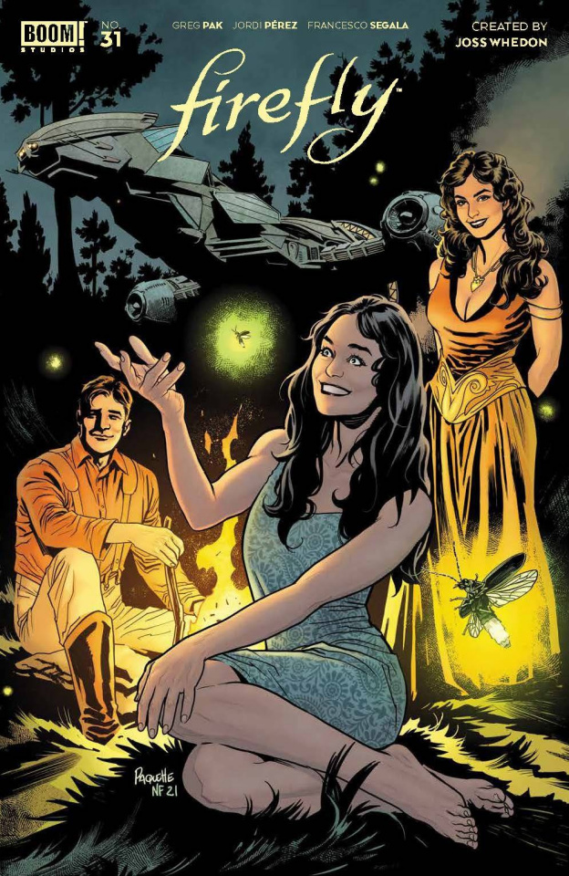 Firefly #31 (Paquette Cover)