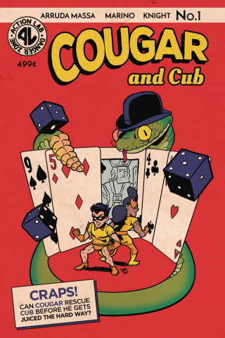 Cougar and Cub #1 (Flashback Cover)