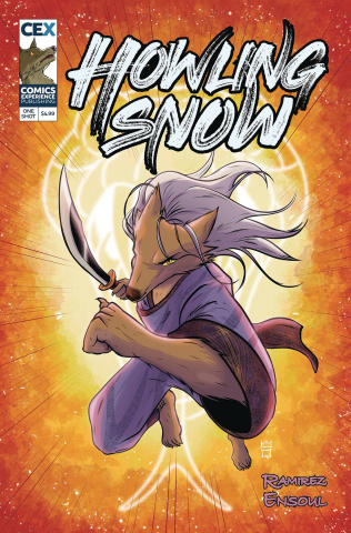 Howling Snow: A Kung Fu Fable #1 (Ng Cover)
