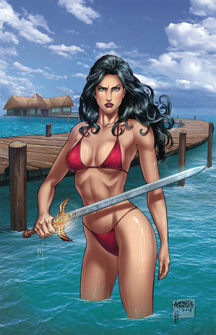 Grimm Fairy Tales Presents Swimsuit Edition 2019 #1 (Reyes Cover)