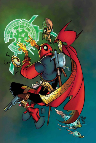 Doctor Strange #390 (Ferry Deadpool Cover)