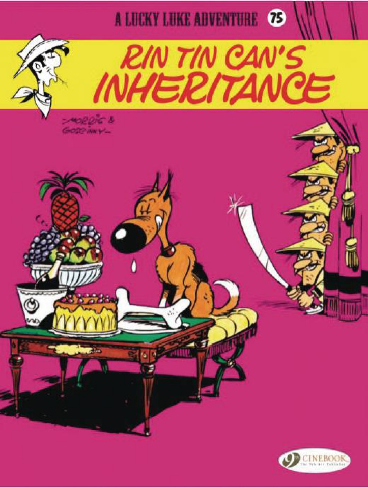 Lucky Luke Vol. 75: Rin Tin Can's Inheritance