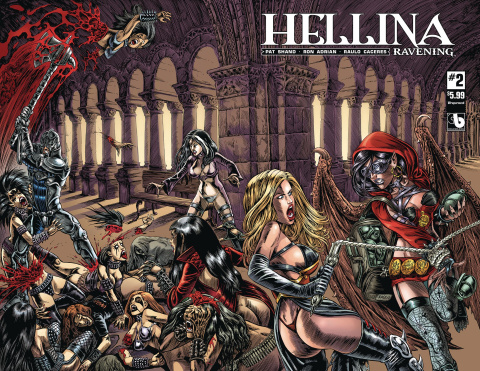 Hellina: Ravening #2 (Wrap Cover)