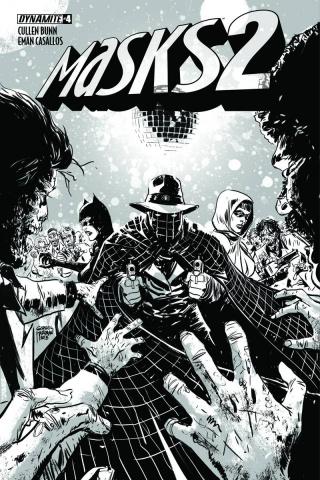 Masks 2 #4 (30 Copy Hardman B&W Cover)