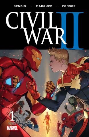 Civil War II #1 (2nd Printing)