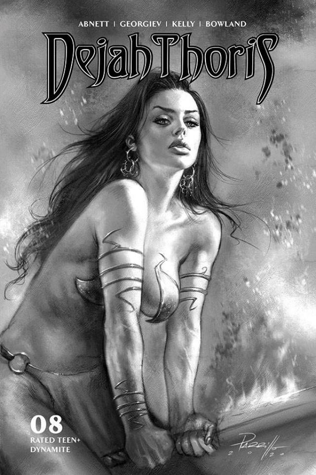 Dejah Thoris #8 (10 Copy Parrillo B&W Cover)