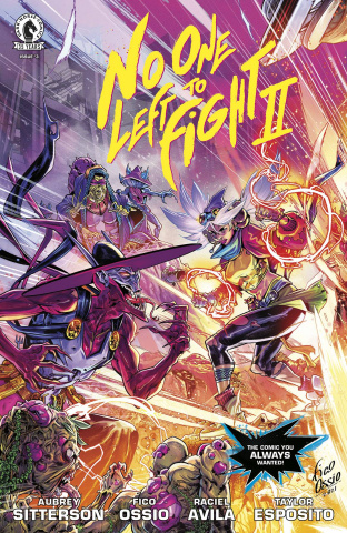 No One Left to Fight II #3 (Cover B)