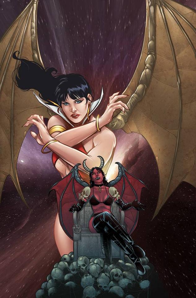 Vampirella vs. Purgatori #5 (Bonus Sarraseca Virgin Cover)
