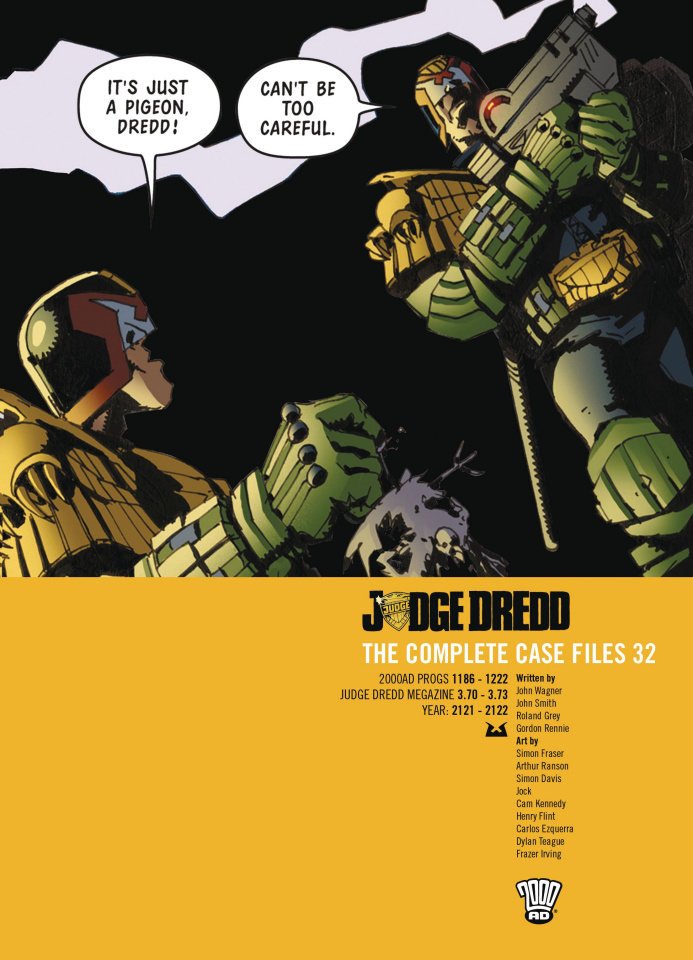 Judge Dredd: The Complete Case Files Vol. 32