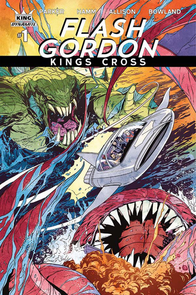 Flash Gordon: Kings Cross #1 (Laming Cover)