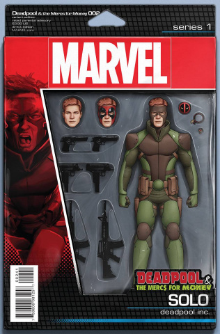 Deadpool and the Mercs For Money #2 (Action Figure Cover)