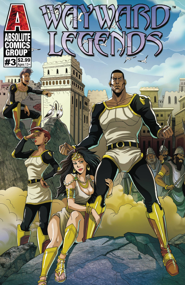 Wayward Legends #3 (Yang Cover)
