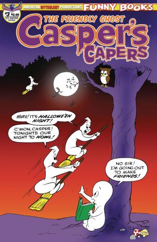 Casper's Capers #3 (Kremer Vintage Limited Cover)