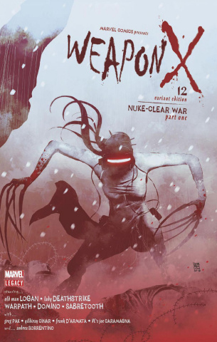 Weapon X #12 (Sorrentino Cover)