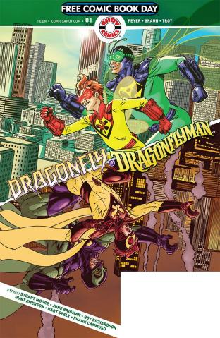 Dragonfly & Dragonflyman FCBD 2019