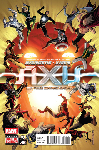 Avengers and X-Men: AXIS #9