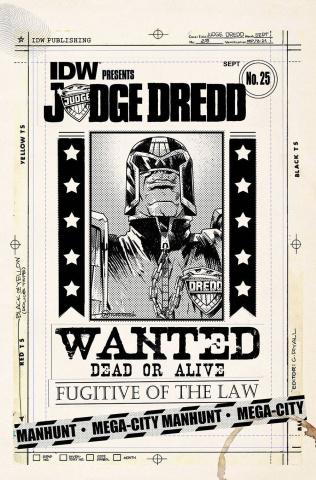 Judge Dredd #25 (10 Copy Cover)