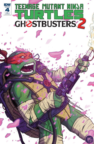 Teenage Mutant Ninja Turtles / Ghostbusters 2 #4 (10 Copy Cover)