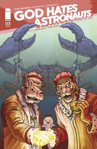 God Hates Astronauts #3 (Burnham Cover)