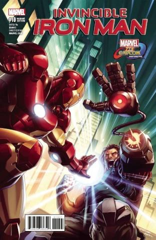 Invincible Iron Man #10 (Marvel vs. Capcom Joe Ng Cover)