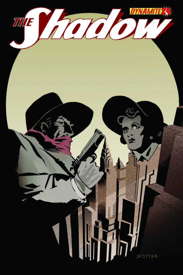 The Shadow #24 (Motter Cover)