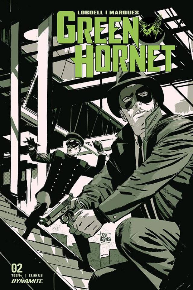 Green Hornet #2 (Weeks Cover)